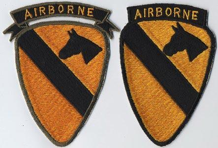D Battery 2nd Bn 44th ADA Air Defense Artillery SENTRY DOG HANDLER scroll tab