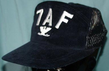 db0e7385504 3300V - RVN Era 7th Air Force Velvet BB Cap