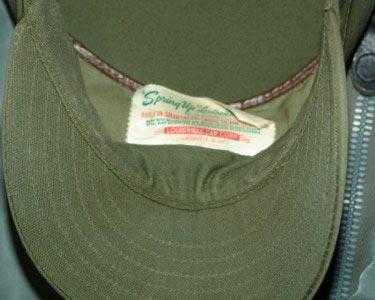high snap bag cap