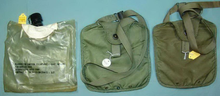 HARD GLASSES CASE AND INSERTS AS SHOWN W// ALICE CLIPS OLIVE DRAB SEE PICS