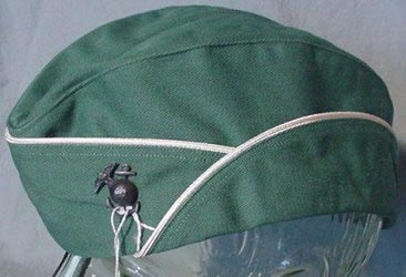 5d76fbbcf4 4060C - Size 22 ½, Summer Garrison Peppermint Green Cotton Cap, made by  Knox, New...........(SOLD)