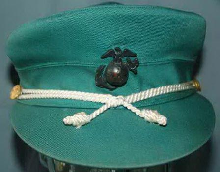 017d8fe78a 4060A - Size 23 ½, Summer Dress Peppermint Green Cotton Cap with White Cord  & Gilt side-buttons, with EGA, named inside, minor soiling on bill, by  Knox, ...