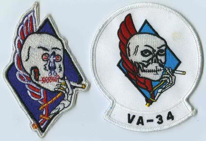 US Navy Attack Squadron 27 VA-27 Royal Maces Skin Pack