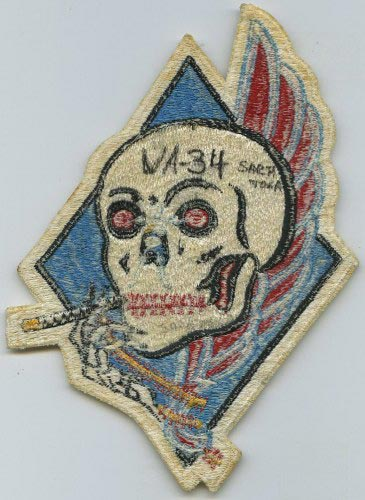 VA-46 Attack Squadron Patch Squadron Patches Navy