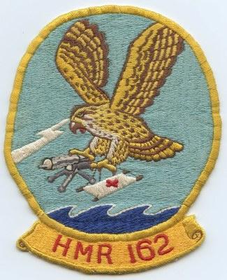 COLOR USMC HMR-L-162 PATCH